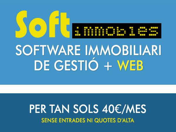 SoftImmobles. Software immobiliari de gestió + web
